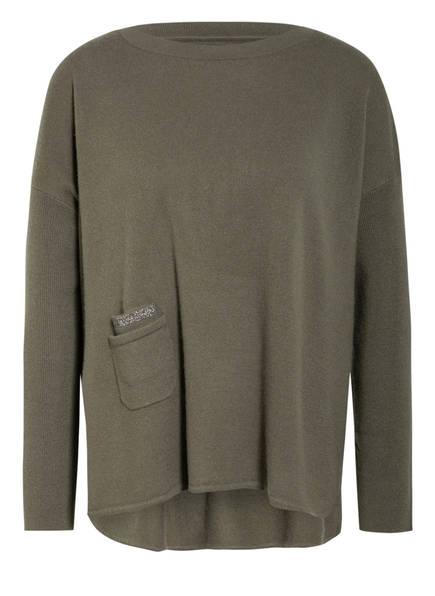 HEMISPHERE Cashmere-Pullover, Farbe: KHAKI (Bild 1)