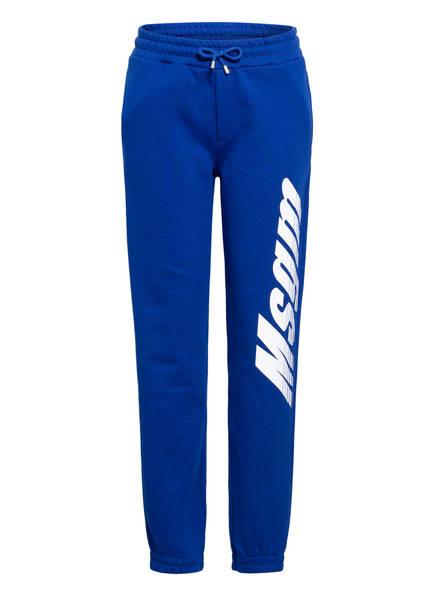 MSGM KIDS Sweatpants, Farbe: BLAU (Bild 1)