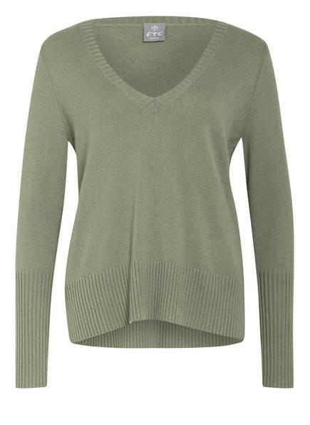 FTC CASHMERE Cashmere-Pullover , Farbe: HELLGRÜN (Bild 1)