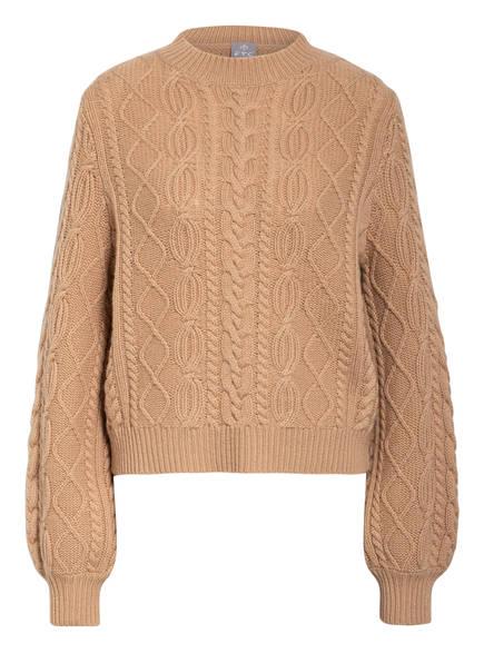 FTC CASHMERE Cashmere-Pullover, Farbe: CAMEL (Bild 1)