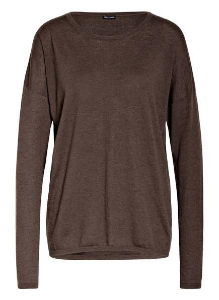 IRIS von ARNIM Cashmere-Pullover LORI, Farbe: DUNKELBRAUN (Bild 1)
