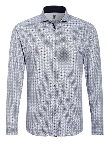 DESOTO Jerseyhemd Slim Fit , Farbe: WEISS/ GRÜN/ BLAU (Bild 1)