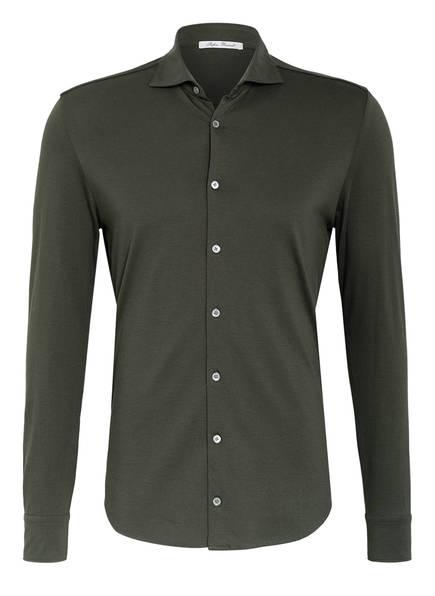 Stefan Brandt Jerseyhemd OTIS Slim Fit, Farbe: OLIV (Bild 1)