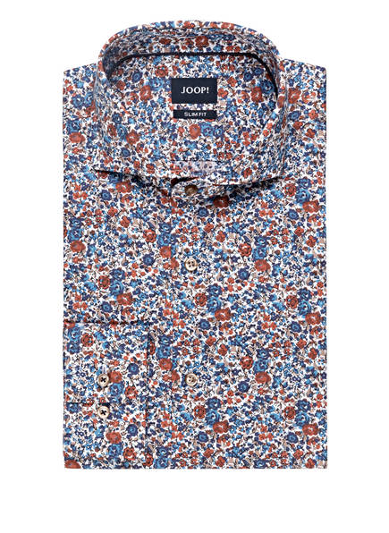 JOOP! Hemd PAJOS Slim Fit, Farbe: WEISS/ BLAU/ DUNKELROT (Bild 1)