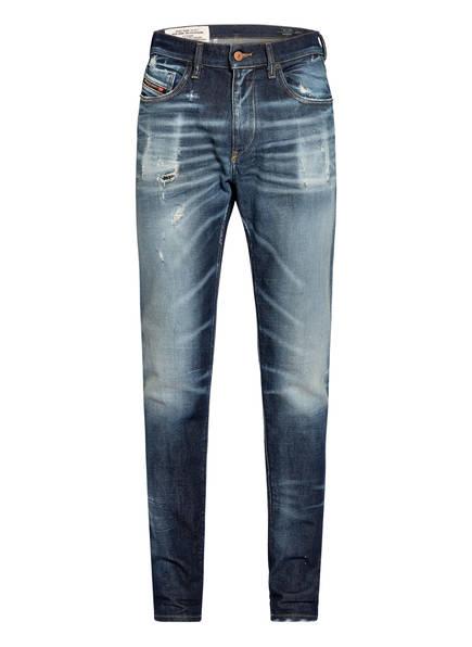 DIESEL Destroyed Jeans D-STRUKT Slim Fit, Farbe: 01 DENIM BLUE (Bild 1)