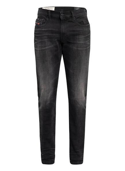 DIESEL Jeans D-STRUKT Slim Fit, Farbe: 02 BLACK/ DENIM (Bild 1)