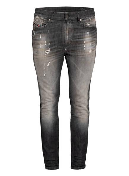 DIESEL Destroyed Jeans D-REEFT Skinny Fit, Farbe: 02 BLACK (Bild 1)