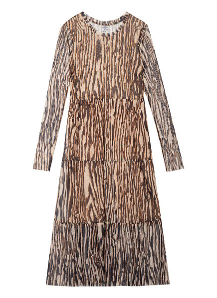BAUM UND PFERDGARTEN Kleid JOCELINA , Farbe: CAMEL/ DUNKELBRAUN/ HELLBRAUN (Bild 1)