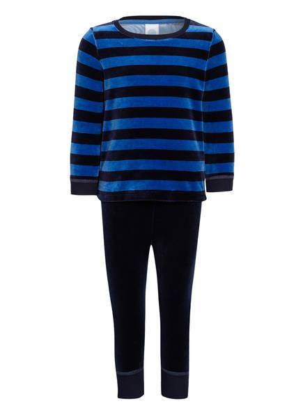 Sanetta Schlafanzug, Farbe: BLAU/ SCHWARZ (Bild 1)
