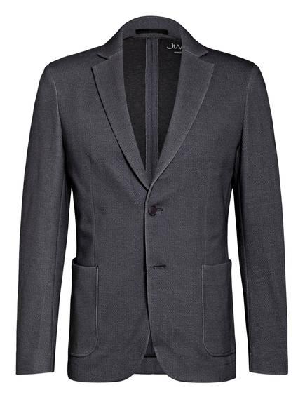 Juvia Anzugsakko Extra Slim Fit aus Jersey, Farbe: DUNKELBLAU MELIERT (Bild 1)