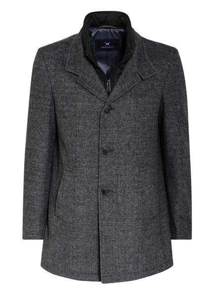 STROKESMAN'S Mantel mit abnehmbarem Steppeinsatz, Farbe: GRAU MELIERT (Bild 1)
