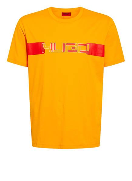 HUGO T-Shirt DECHY , Farbe: ORANGE/ ROT (Bild 1)
