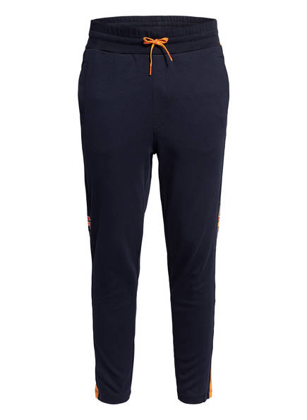 HUGO Sweatpants DEELY, Farbe: DUNKELBLAU/ ORANGE (Bild 1)