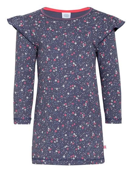 Sanetta Nachthemd mit Volantbesatz, Farbe: BLAU (Bild 1)