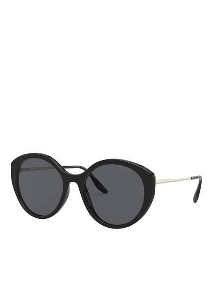 PRADA Sonnenbrille PR 18XS, Farbe: 1AB5Z1 - SCHWARZ/ GRAU POLARISIERT (Bild 1)
