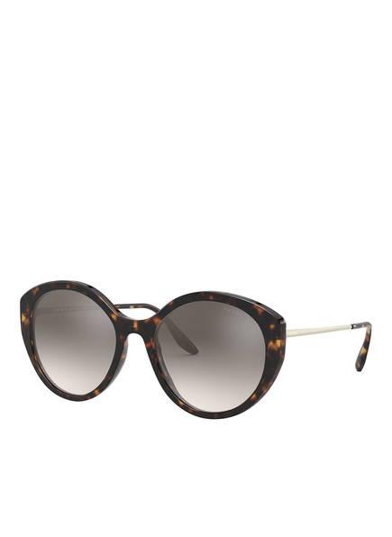 PRADA Sonnenbrille PR 18XS, Farbe: 2AU4P0 - HAVANA/ GRAU VERSPIEGELT (Bild 1)