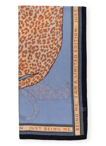CODELLO Schal , Farbe: HELLBLAU/ CAMEL/ HELLBRAUN (Bild 1)