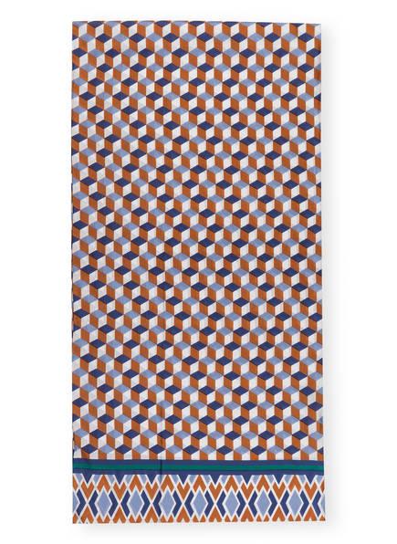 CODELLO Seidenschal, Farbe: BRAUN/ BLAUGRAU/ WEISS (Bild 1)