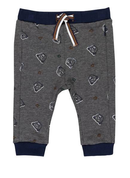 Sanetta FIFTYSEVEN Sweatpants , Farbe: GRAU/ DUNKELBLAU (Bild 1)