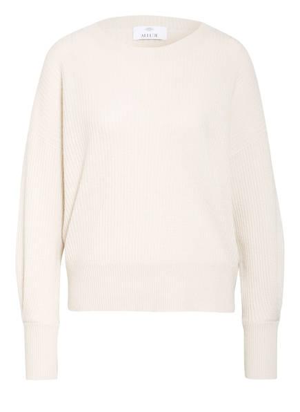 ALLUDE Cashmere-Pullover, Farbe: WEISS (Bild 1)