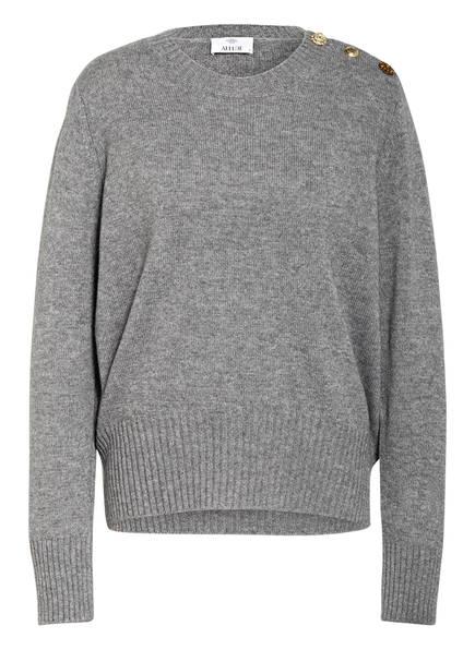 ALLUDE Pullover mit Cashmere, Farbe: GRAU MELIERT (Bild 1)