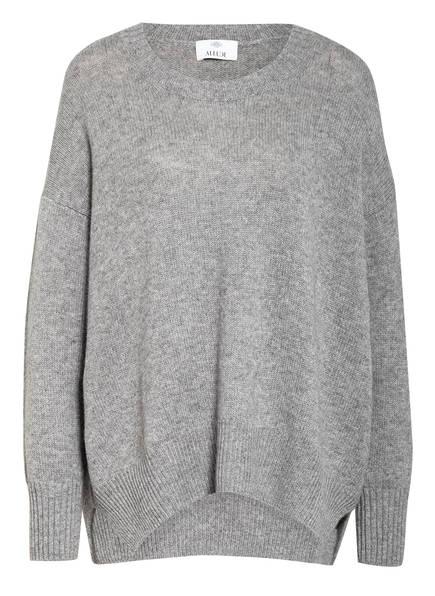 ALLUDE Oversized-Pullover aus Cashmere, Farbe: GRAU MELIERT (Bild 1)