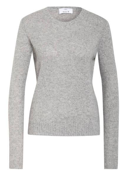 ALLUDE Cashmere-Pullover, Farbe: GRAU MELIERT (Bild 1)