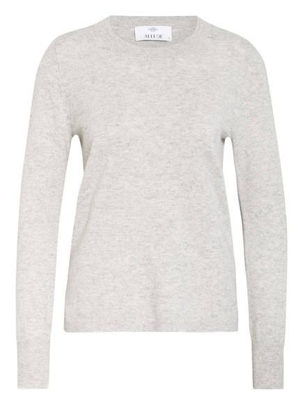 ALLUDE Cashmere-Pullover, Farbe: HELLGRAU MELIERT (Bild 1)