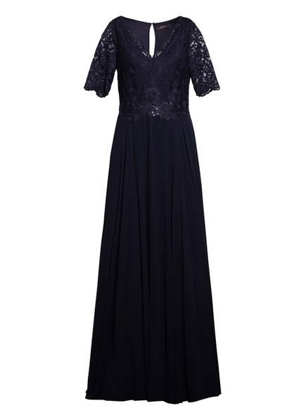 Vera Mont Abendkleid mit Paillettenbesatz , Farbe: DUNKELBLAU (Bild 1)