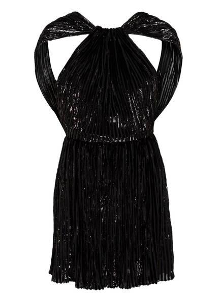 SAINT LAURENT Plisseekleid, Farbe: SCHWARZ (Bild 1)