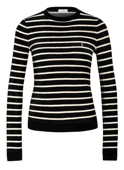 SAINT LAURENT Pullover, Farbe: SCHWARZ/ ECRU (Bild 1)