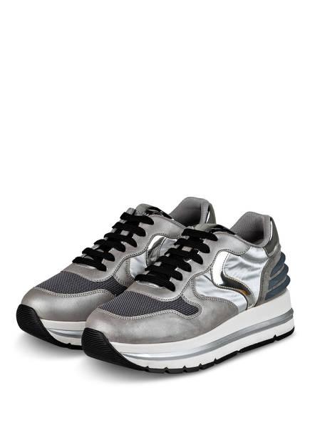 VOILE BLANCHE Plateau-Sneaker MARAN, Farbe: GRAU/ DUNKELGRAU (Bild 1)