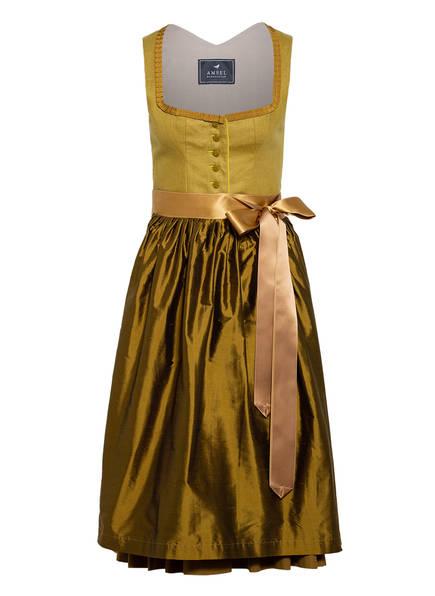 AMSEL Dirndl OLIVIA, Farbe: OLIVE/ WEISS/ BRAUN (Bild 1)