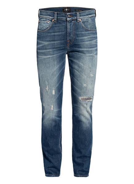 7 for all mankind Jeans Slim Tapered Fit, Farbe: DARK BLUE (Bild 1)