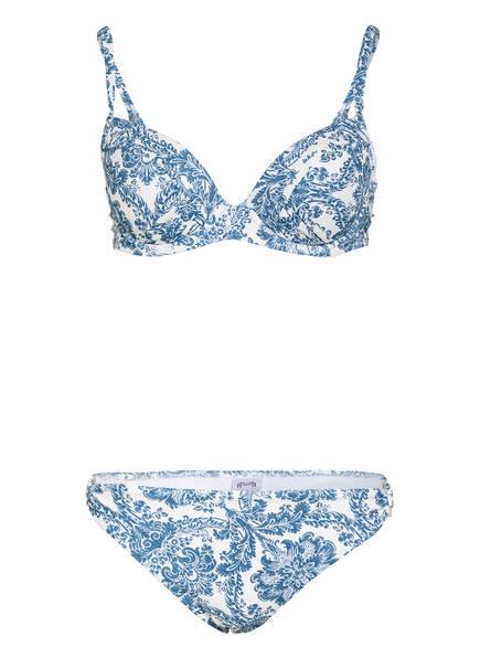 MARYAN MEHLHORN Bügel-Bikini PORCELAIN , Farbe: WEISS/ BLAU (Bild 1)