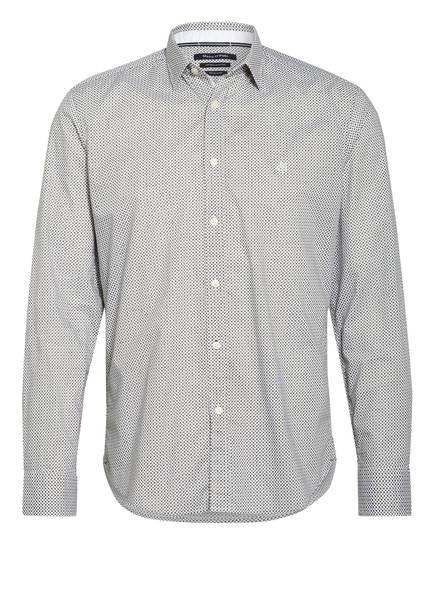 Marc O'Polo Hemd Regular Fit, Farbe: DUNKELGRÜN/ WEISS (Bild 1)