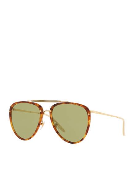 GUCCI Sonnenbrille GC001381, Farbe: 4700J1 - HAVANA/ GRÜN (Bild 1)