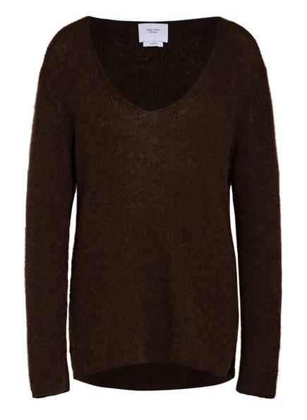 Marc O'Polo Pure Pullover, Farbe: DUNKELBRAUN (Bild 1)