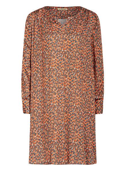 Smith&Soul Kleid, Farbe: DUNKELGRAU/ ROT/ HELLBRAUN (Bild 1)