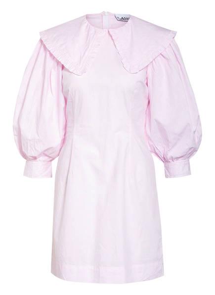 GANNI Kleid , Farbe: ROSA/ WEISS (Bild 1)
