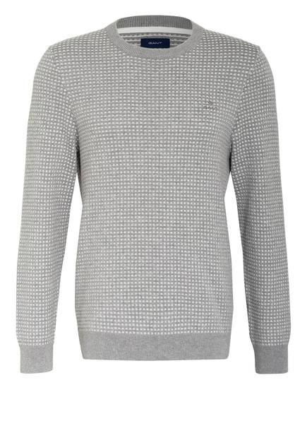 GANT Pullover , Farbe: HELLGRAU/ WEISS (Bild 1)