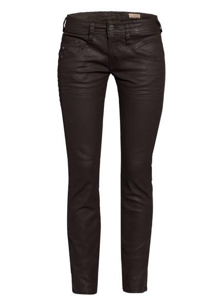 Herrlicher Skinny Jeans GILA , Farbe: DUNKELBRAUN (Bild 1)