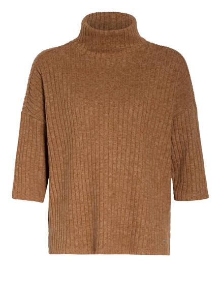 Herrlicher Pullover BRISA mit 3/4-Arm , Farbe: CAMEL (Bild 1)