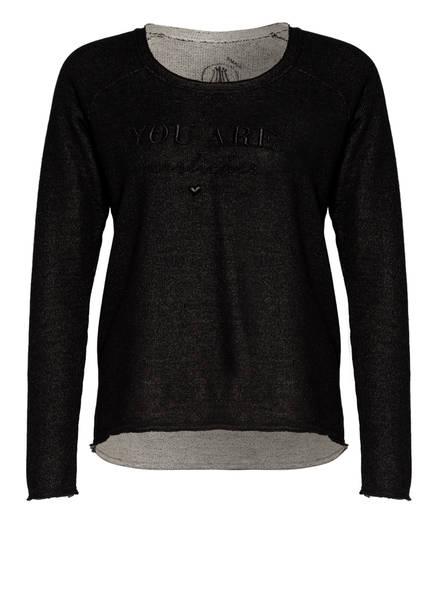 Herrlicher Sweatshirt FREYJA , Farbe: SCHWARZ (Bild 1)