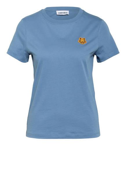 KENZO T-Shirt TIGER, Farbe: BLAUGRAU (Bild 1)