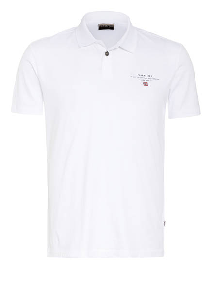 NAPAPIJRI Jersey-Poloshirt ELLI Slim Fit , Farbe: WEISS (Bild 1)