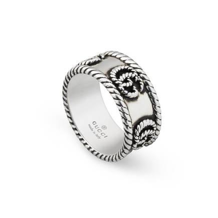 GUCCI Ring GG MARMONT, Farbe: SILBER (Bild 1)