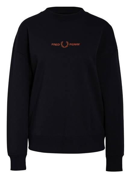 FRED PERRY Sweatshirt, Farbe: DUNKELBLAU (Bild 1)