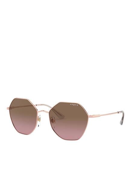 VOGUE Sonnenbrille, Farbe: 507514 - ROSÉGOLD/ BRAUN VERLAUF (Bild 1)