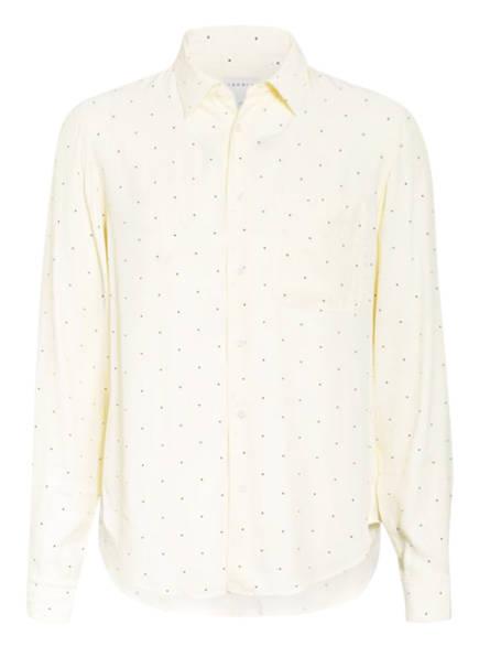 sandro Hemd Regular Fit, Farbe: ECRU/ DUNKELBLAU GEPUNKTET (Bild 1)